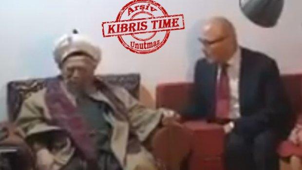 Talat'da Şeyh Nazım'ı ziyaret etmiş...