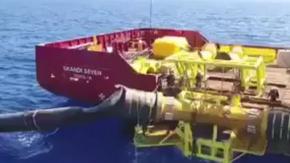 KKTC Deniz Geçişi İsale Hattı Onarım çalışmaları