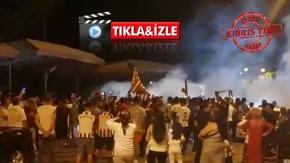 Lefkoşa'da Hatayspor şampiyonluk kutlaması